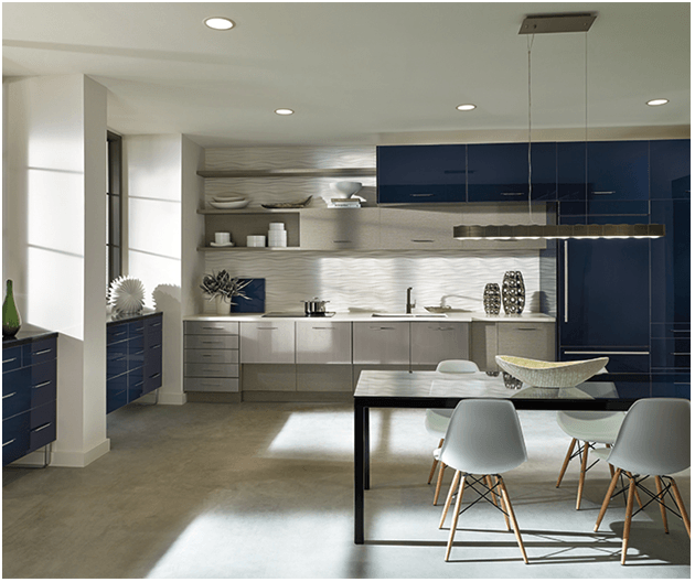 Tủ bếp sẽ giúp không gian căn nhà trở lên sang trọng và gọn gàng hơn