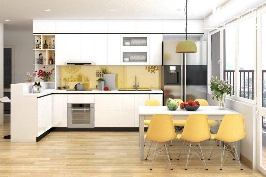 Tủ bếp giá rẻ TMF004