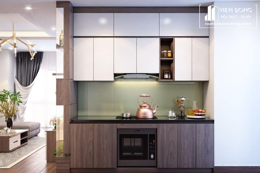 tủ bếp nhỏ gọn