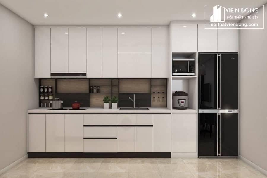tủ bếp acrylic arc150