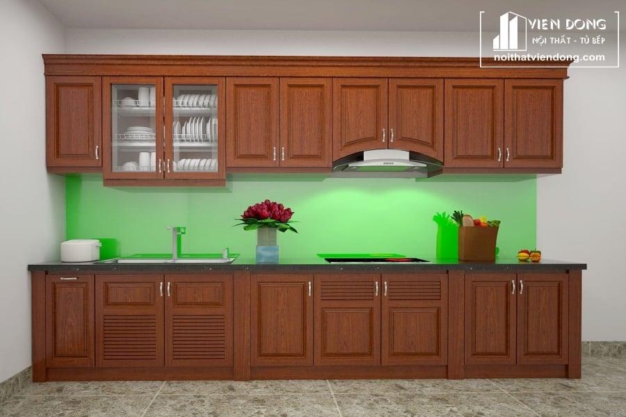 Tủ bếp gỗ xoan TBX180