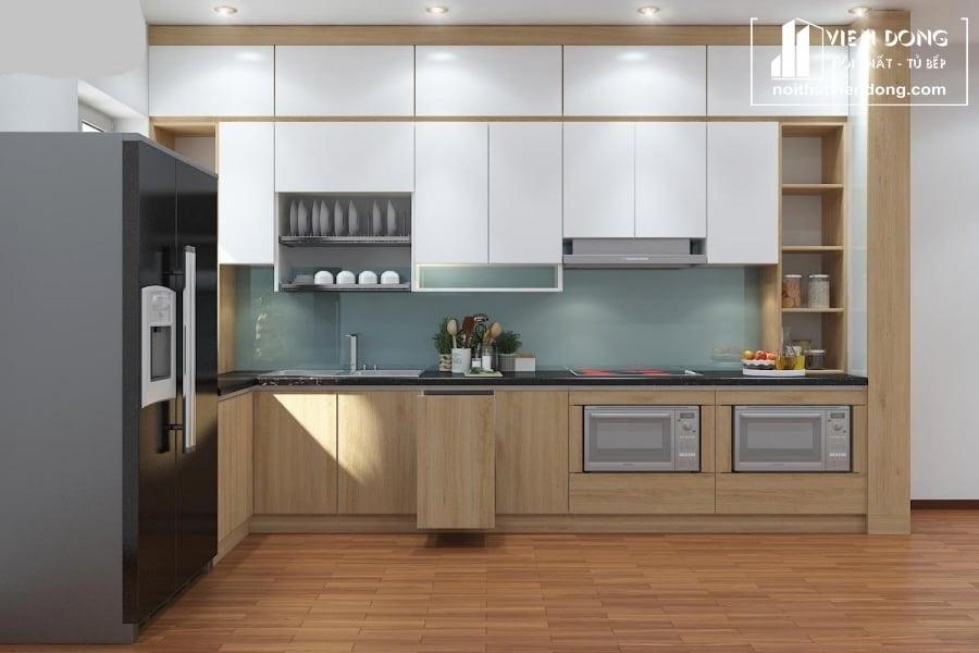 Tủ bếp Laminate LK043