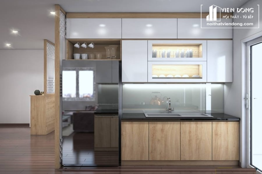 Tủ bếp Laminate LK046