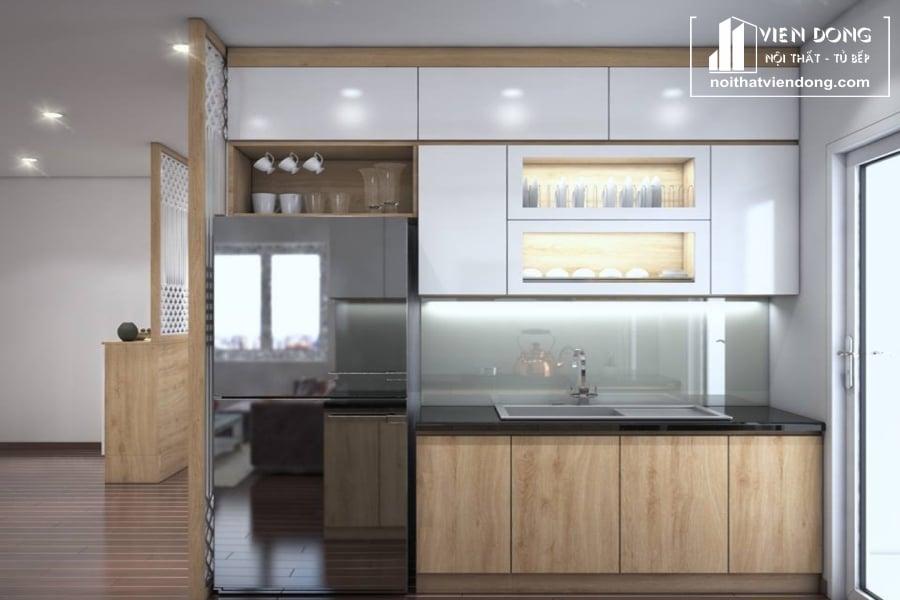 Tủ bếp Melamine TBM015