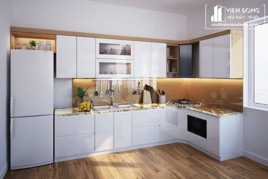 Tủ bếp Melamine TBM026