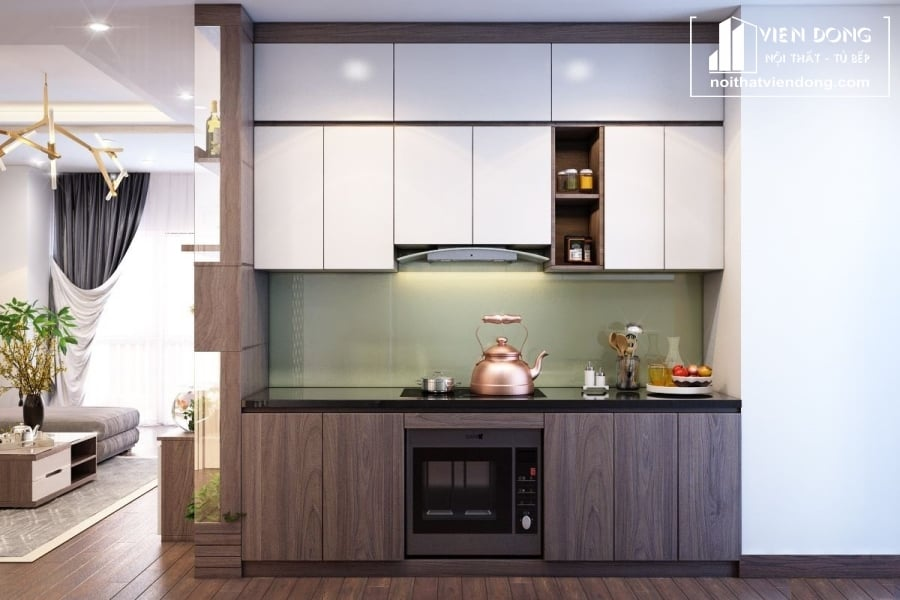 Tủ bếp Melamine TBM027