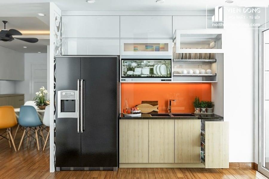 Tủ bếp Melamine TBM028