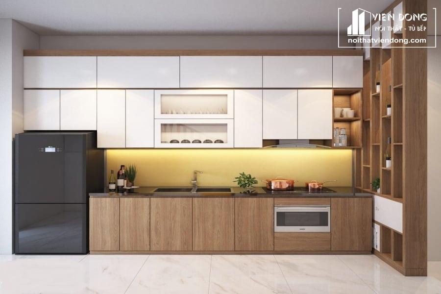 Tủ bếp Melamine TBM035
