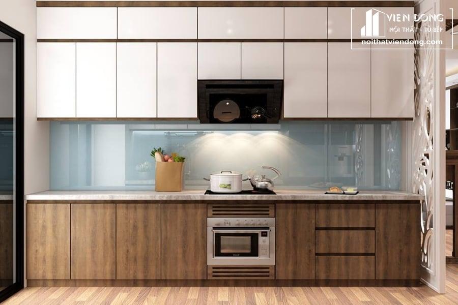 Tủ bếp Melamine TBM036