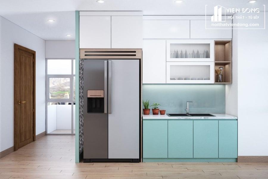 Tủ bếp Melamine TBM064