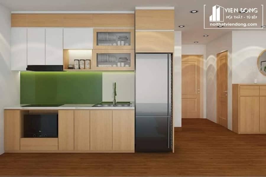 Tủ bếp Melamine TBM001