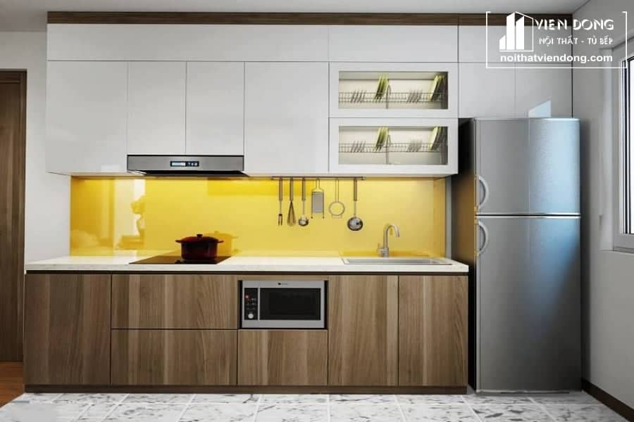 Tủ bếp Melamine TBM072