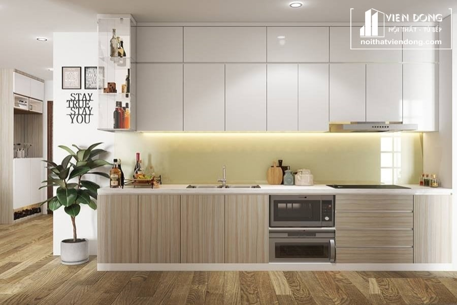 Tủ bếp Melamine TBM073