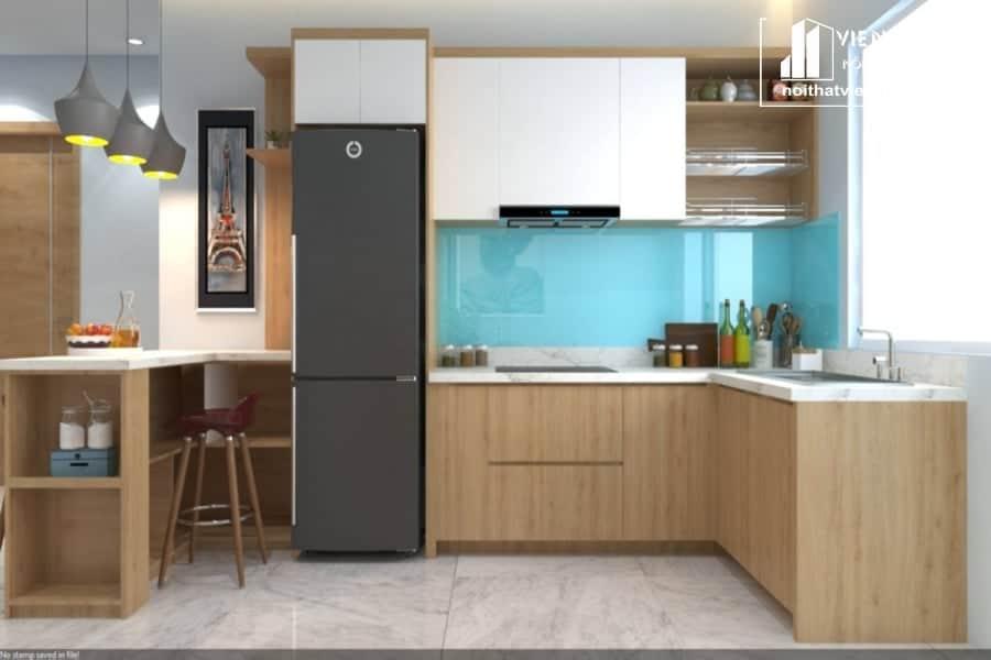 Tủ bếp Melamine TBM079