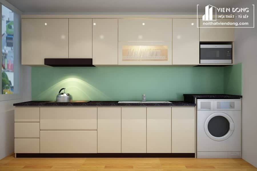 Tủ bếp nhựa TBN006 đẹp