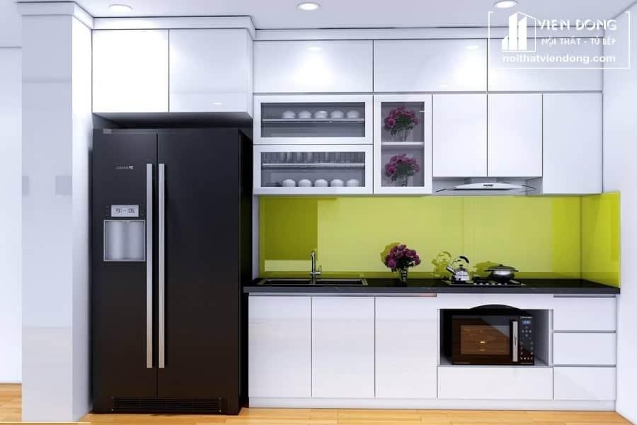 Tủ bếp nhựa TBN030 đẹp