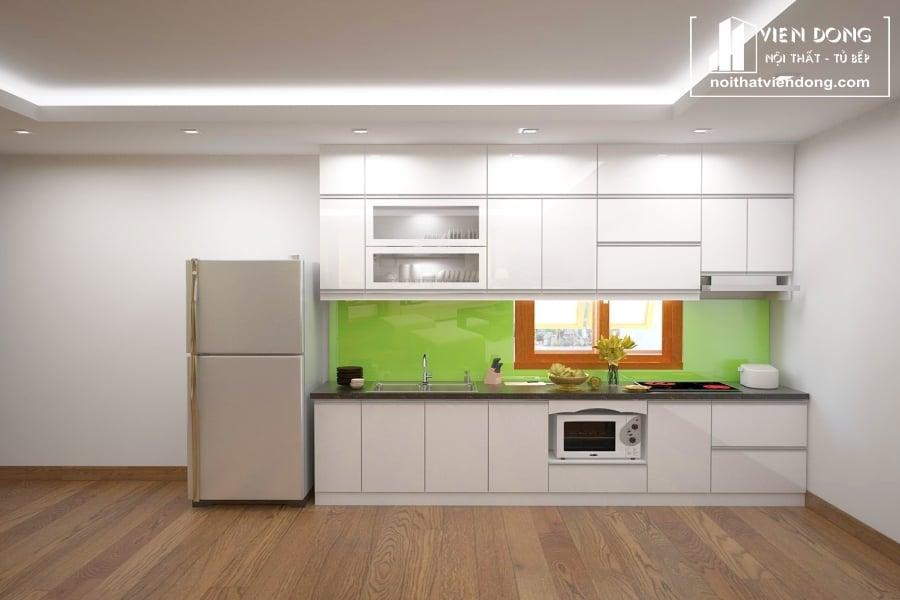 Tủ bếp nhựa TBN044 đẹp