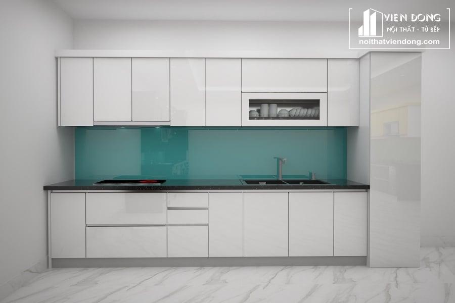 Tủ bếp nhựa TBN055 đẹp