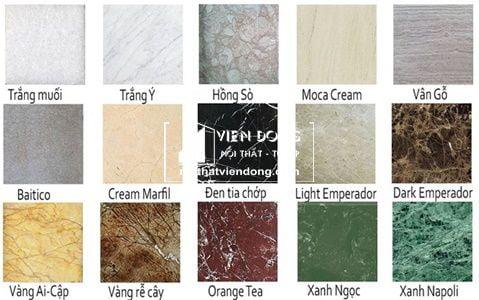 mẫu đá Marble
