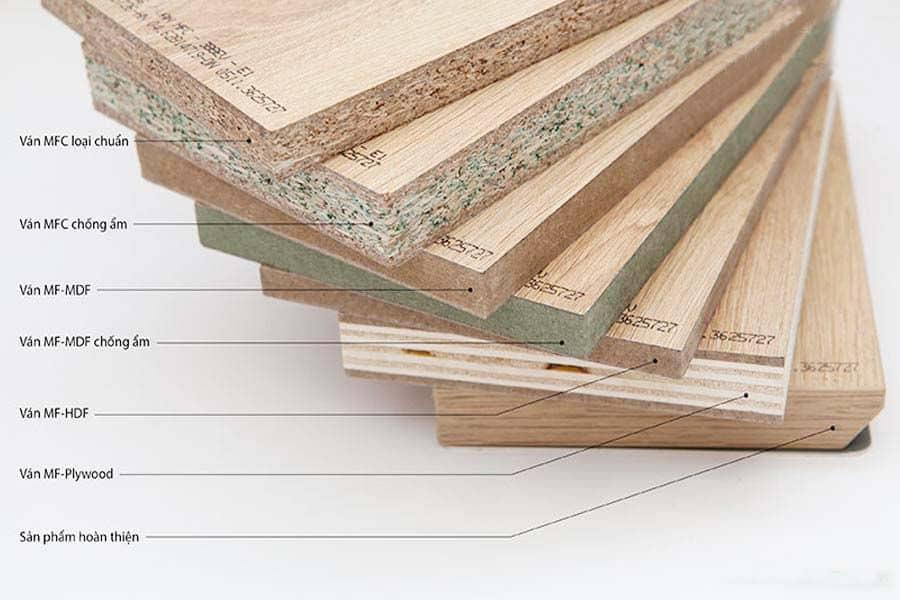 các loại cốt gỗ an cường