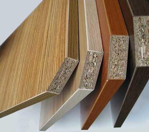 gỗ công nghiệp đa dạng màu sắc