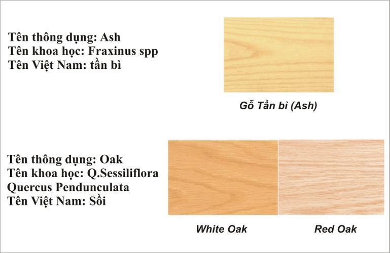 gỗ tần bì, gỗ sồi nga, gỗ sồi mỹ