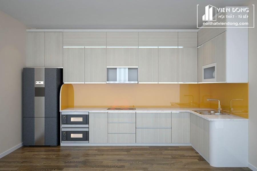 tủ bếp inox cao cấp