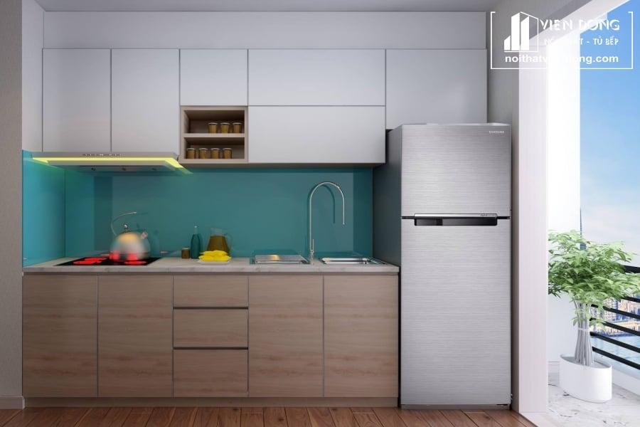 Tủ bếp inox chữ I