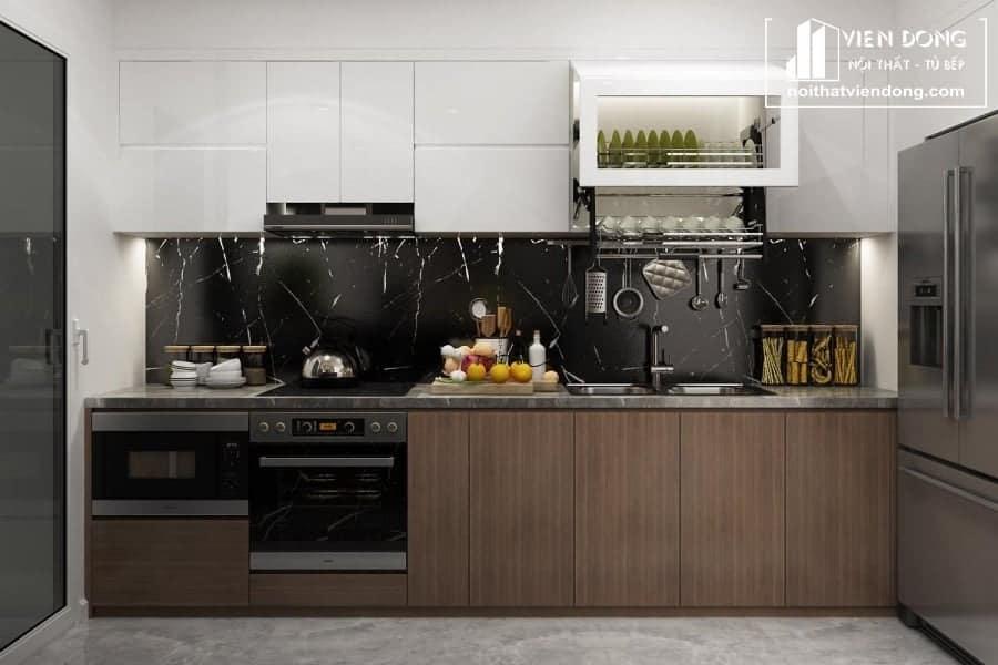 tủ bếp inox giá rẻ TBI062