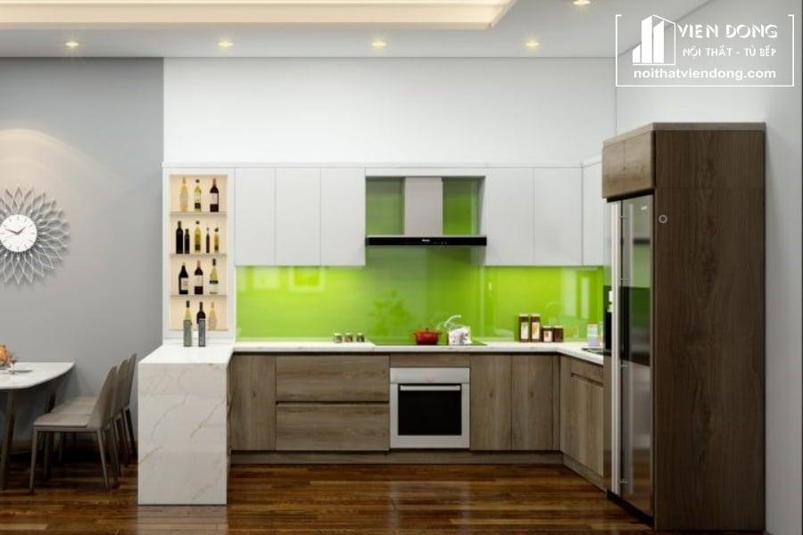 tủ bếp inox giá rẻ TBI078