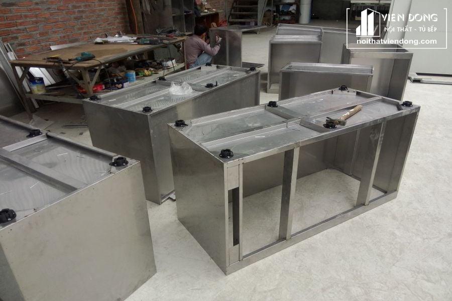 Tủ bếp inox chính hãng - hình 2