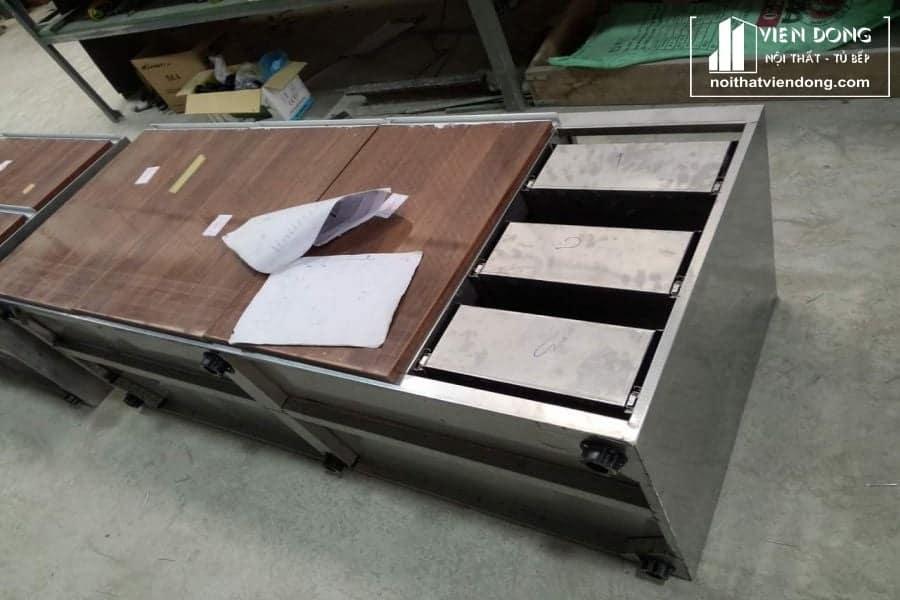 mẫu modul tu bep inox hoa phat tại xuong
