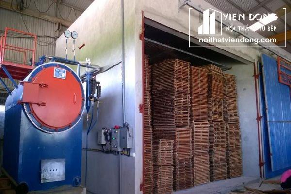 quy trình tẩm sấy gỗ tự nhiên