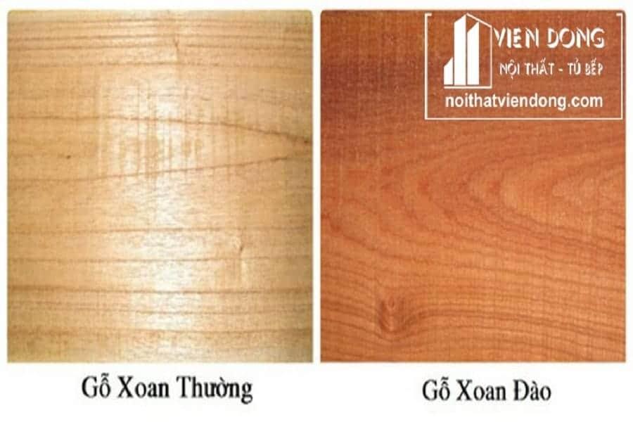 gỗ xoan đào