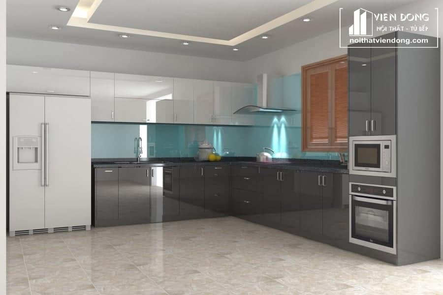 Tủ bếp acrylic ARC012
