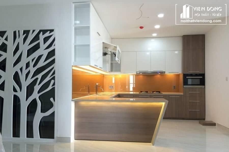 Tủ bếp acrylic ARC013