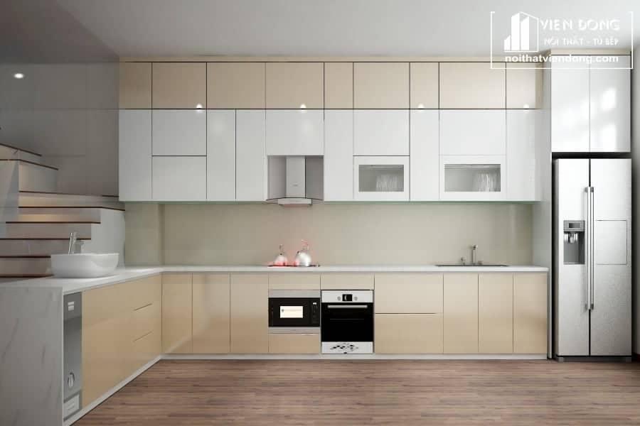 Tủ bếp acrylic ARC016