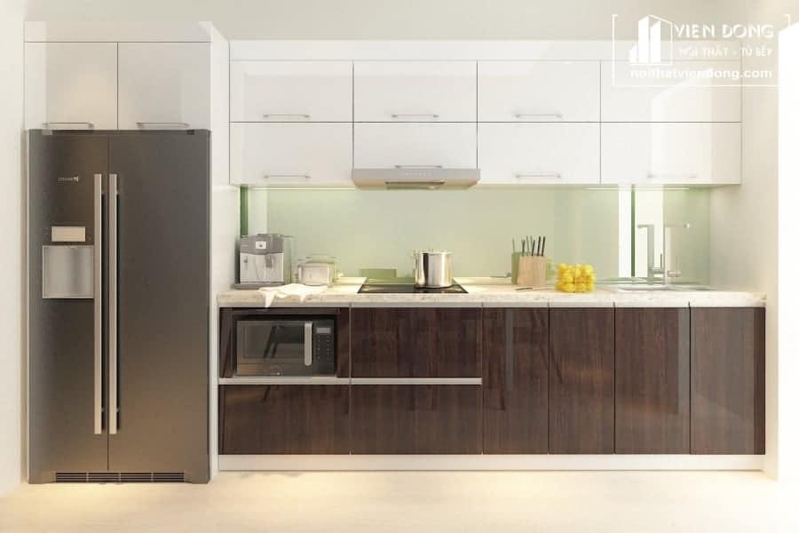Tủ bếp acrylic ARC011