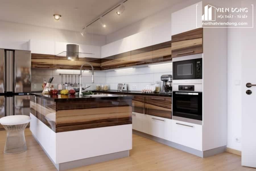 Tủ bếp acrylic ARC018