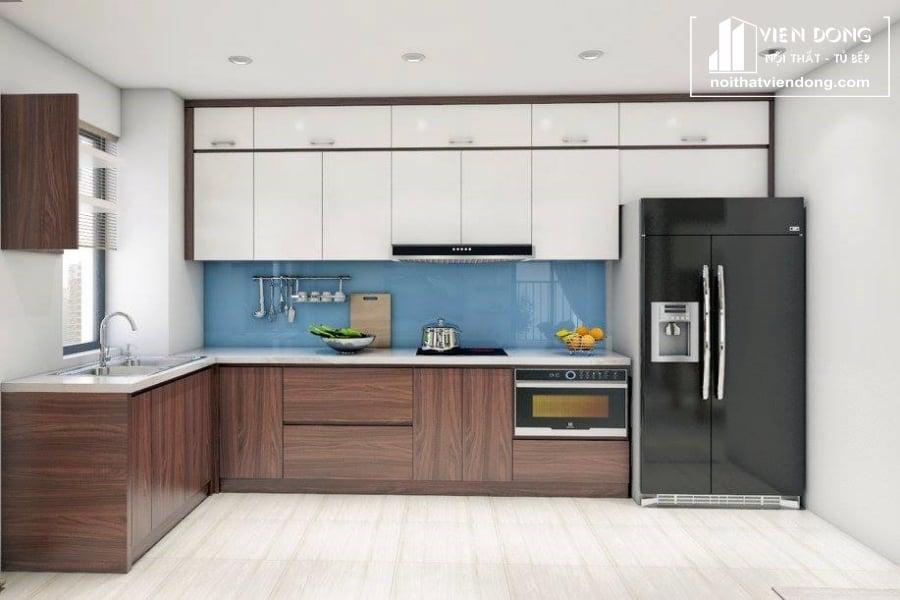 Tủ bếp laminate an cường