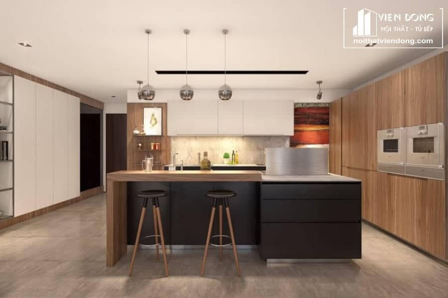 Tủ bếp laminate LK001