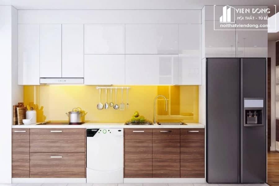 Tủ bếp laminate LK003