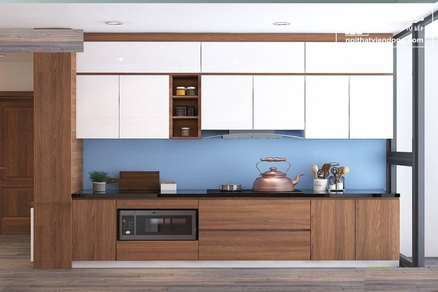 Tủ bếp laminate chữ I