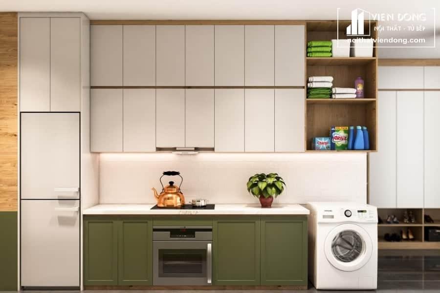 Tủ bếp Melamine TBM007