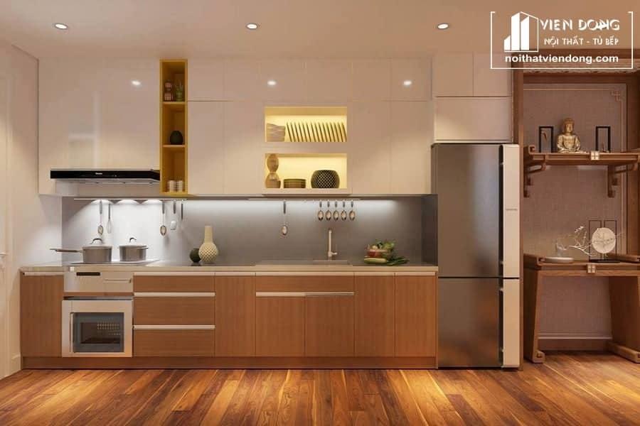 Tủ bếp Melamine TBM008