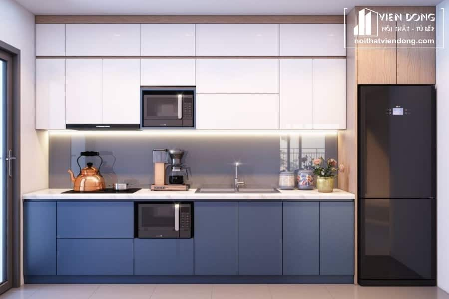 Tủ bếp Melamine TBM003
