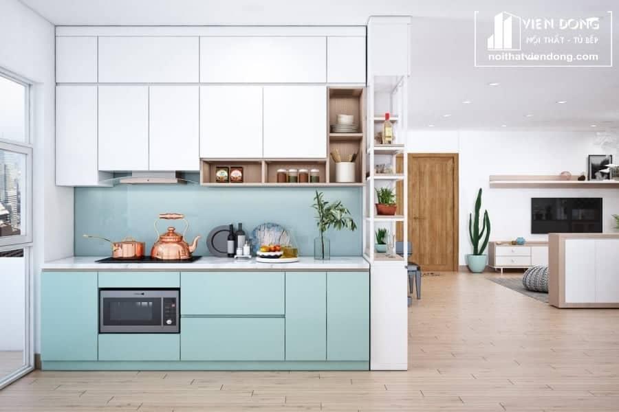 Tủ bếp chất liệu Melamine