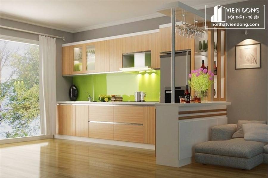 Tủ bếp nhựa TBN001
