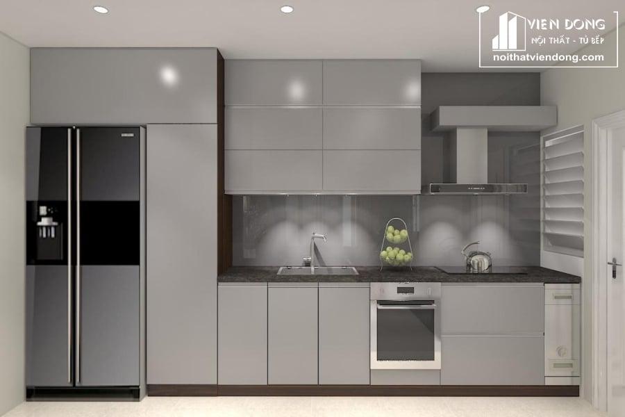 Tủ bếp nhựa composite