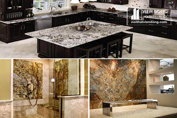 đá hoa cương dùng trang trí nội thất